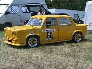 la Talbot Rallye 1 numéro 60 de Dominique Carifi