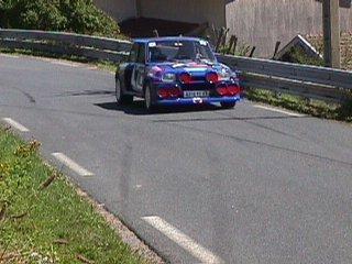 Alain Bertrand sur sa R5 Turbo numéro 182