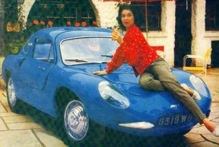 L'Atla en couverture de la revue « L'automobile »)