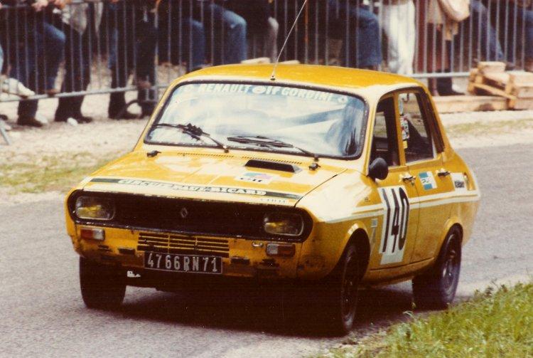 La Renault 12 Gordini des débuts
