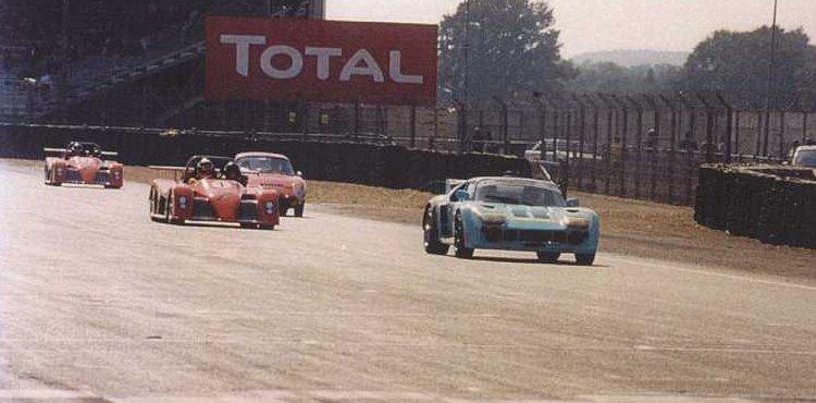 La Scora sur le circuit Bugatti