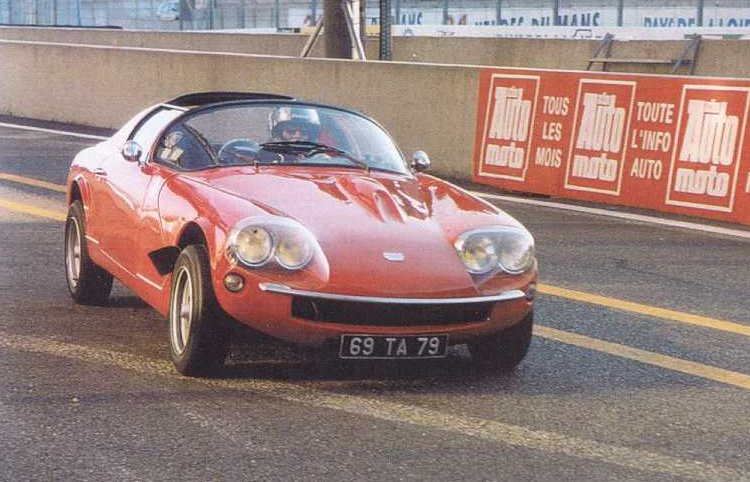 La Sovam sur le circuit Bugatti