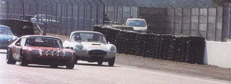 Jidé + Séra sur le circuit Bugatti
