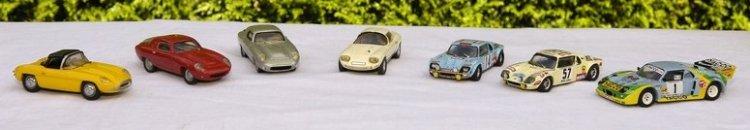 Toute la gamme des véhicules construits par Jacques Durand