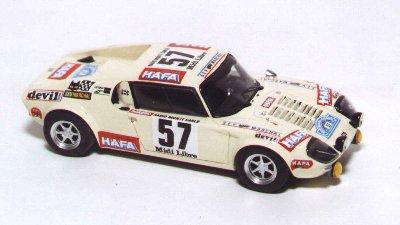 La maquette de la Jidé de Jannick Auxemery au Critérium des Cévennes - « Jean Rolland » en 1971