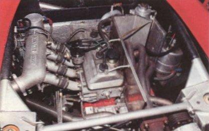 Le moteur Tour de Corse 1470 cm3